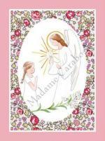 CF ange lys oval eloise rose liseré rose