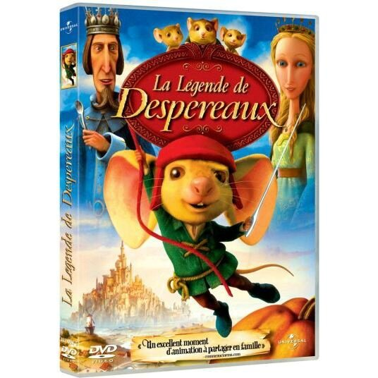 dvd-la-legende-de-despereaux