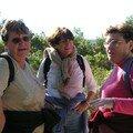 Sugiton, avec Michèle et Françoise