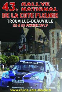 Affiche Côte fleurie 2013