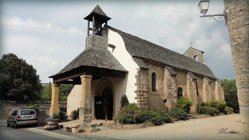 01 08 027 Eglise de la Bouysse St Côme d'Olt-001