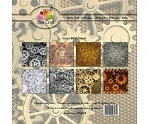 dixi-craft-6x6-inch-paper-pack-gears-background-pp