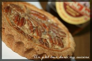 Tartelettes sirop érable pécan