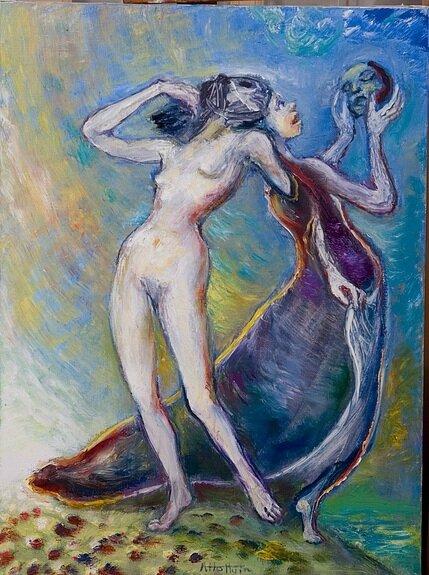 Dédoublement de l'âme et du corps. André Helluin
