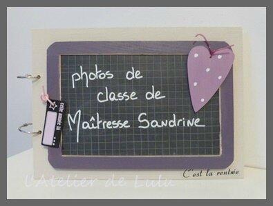 album photos de classe maitresse