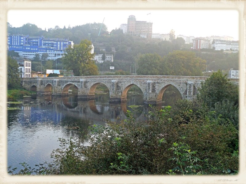 Le pont _romain_ sortie de Lugo
