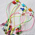 Bracelet Croix fluo