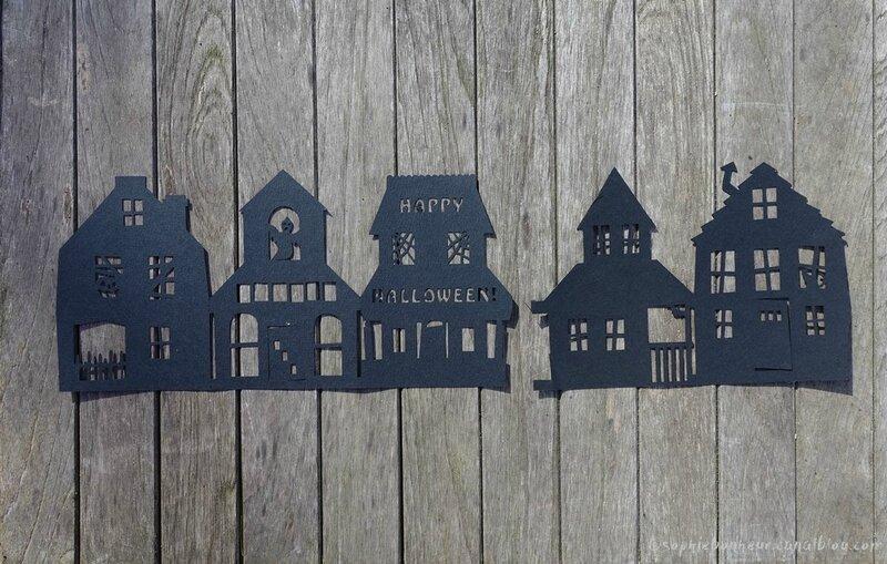 Halloween maisons hantées