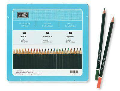 Crayons à aquarelle