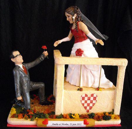 figurine mariage Amélie et Nicolas 171
