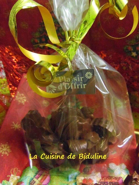 Mes chocolats de Noël - La Cuisine de Biduline
