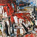 ABSTRACTION LYRIQUE 1958_Le petit cheval_Riopelle