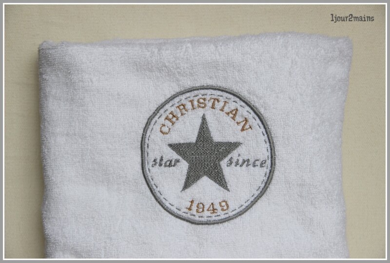 serviette christian