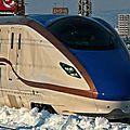 Shinkansen E7?, Nagano Line.