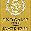 Chronique: endgame: l'appel de james frey et de nils johnson-shelton
