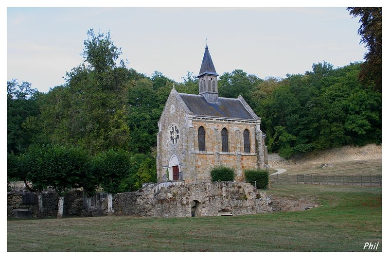 Ruines De L Abbaye De Port Royal Et L Oratoire Photo Passion