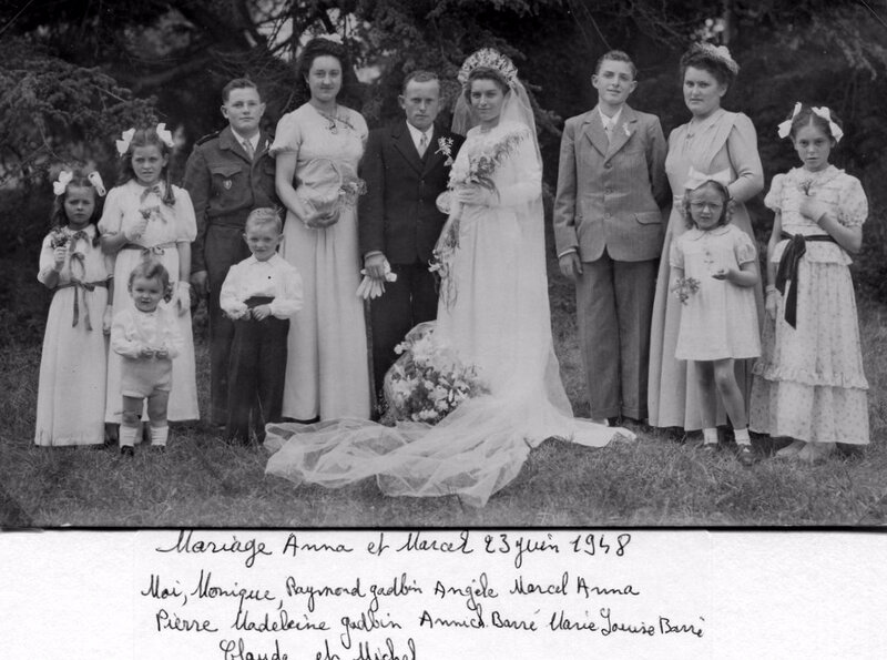 anna barré et marcel gadbin-Juin 1948-2