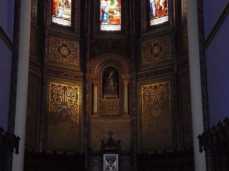 Basilique Notre Dame de Buglose, intérieur