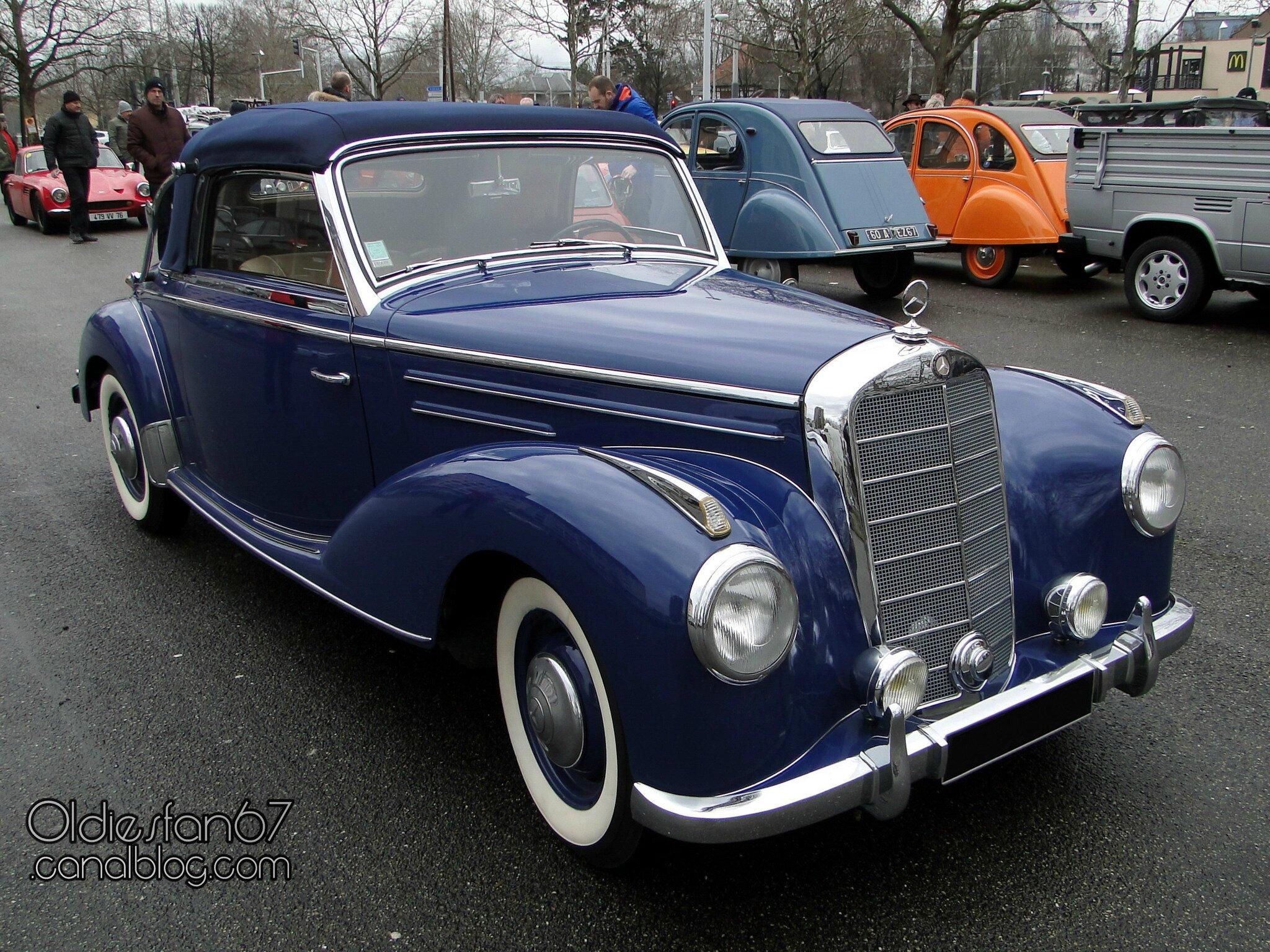 Mercedes benz 220 w187 cabriolet 1952 oldiesfan67 mon for 1952 mercedes benz