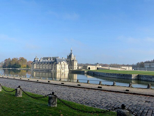 Chateau de Chantilly et son parc