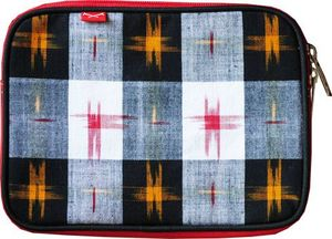 ikat clutch