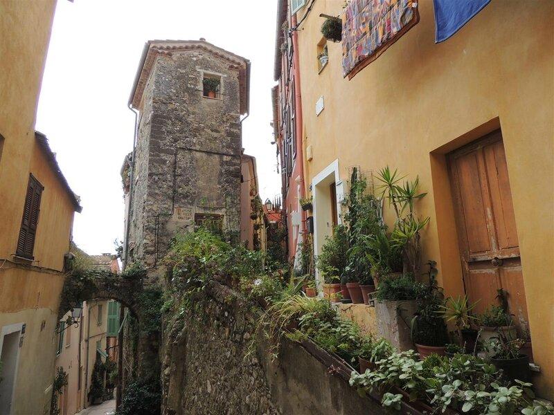 Rue pittoresque de Menton