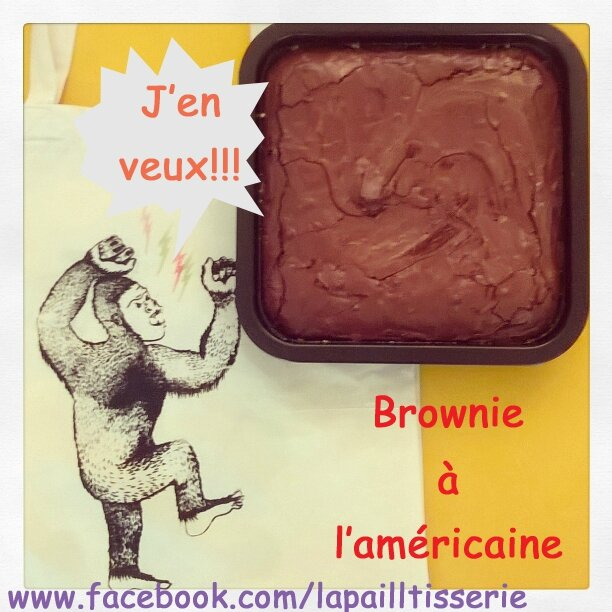 Brownie à l'américaine