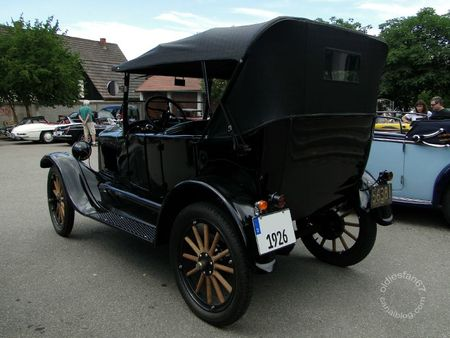 Ford model t touring 1926 Internationales Oldtimertreffen de Gundelfingen 2011 2