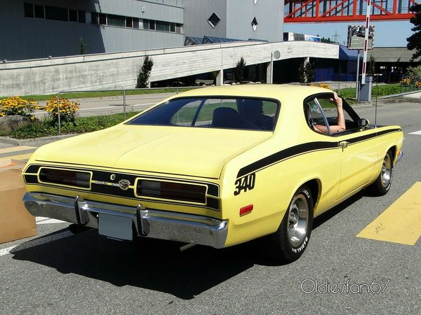 plymouth duster 340 fastback coupe 1972 b