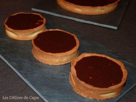Tarte au toblerone et caramel divin5