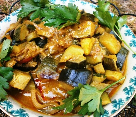 curry courgettes-aubergine (1)