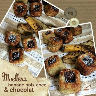 moelleux banane noix coco et chocolat (SCRAP)