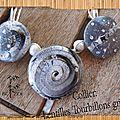 collier lentilles tourbillons grises 2
