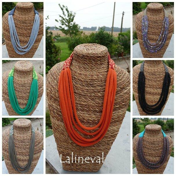 colliers bandeaux