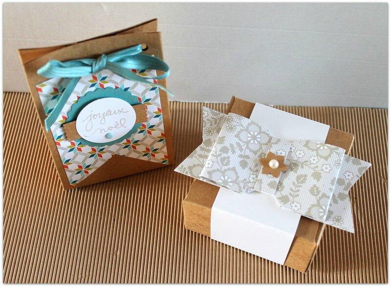 gift bag et gift box punch board