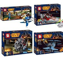 SY309-312-4pcs-lot-Super-Heroes-Star-War-Building-Blocks-Toys-For-Children-Compatible-With-Lego