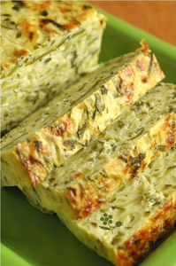 Terrine courgettes-menthe