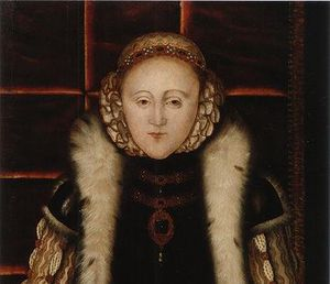 Elisabeth I vers 1560