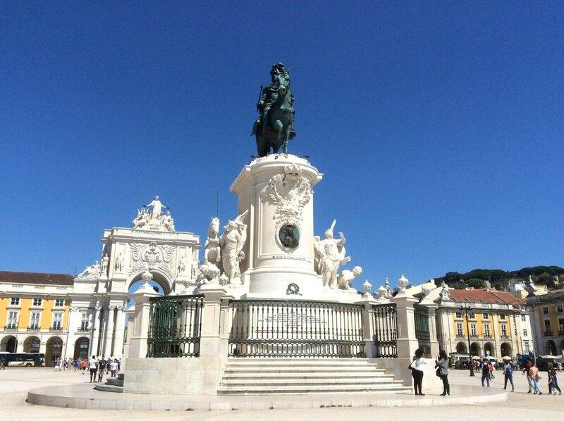 255- Lisbonne statue équestre de Joseph Ier de Portugal le 07