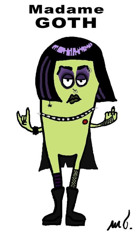 Madame goth
