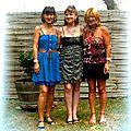 Corinne, Thaly et Nathalie