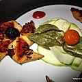 Mini moulins à vent feuilletés au confit 3 légumes de provence