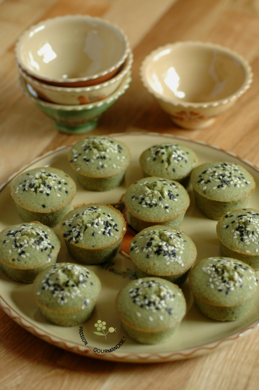Financiers au thé Matcha_1