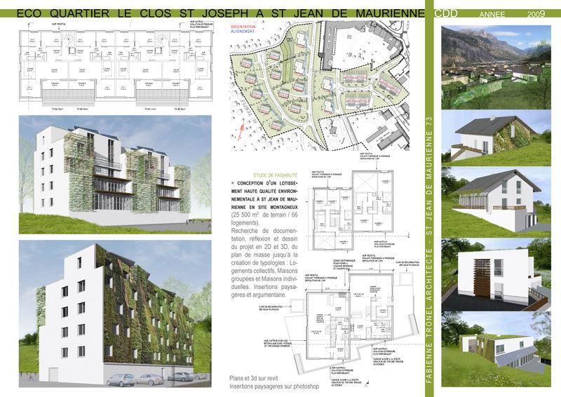 Eco Quartier En Savoie Violaine Stevenin Architecte
