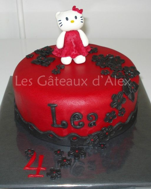 Gâteau Hello Kitty #7