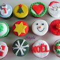 Cupcakes de noël - christmas cupcakes