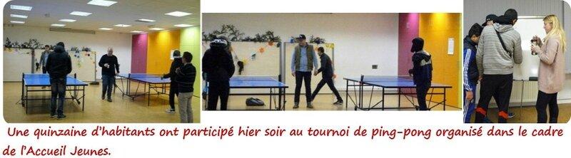 Quartier Drouot - Accueil Jeunes tournoi de ping-pong