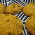 Noon-e nokhodchi, petits biscuits à la farine de pois chiche