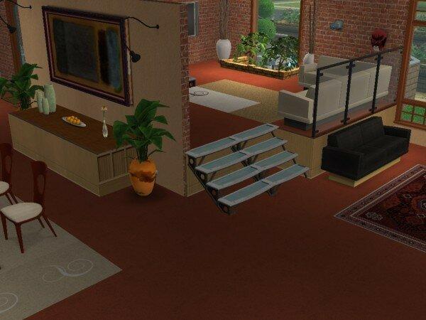 Interieur maison sims 2 for Modele maison sims 2