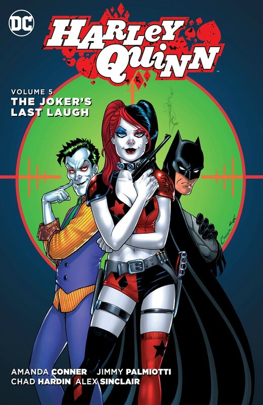 new 52 harley quinn vol 5 the joker's last laugh HC